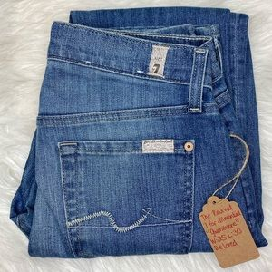 SEVEN FOR ALL MANKIND GWENEVERE JEANS EUC
